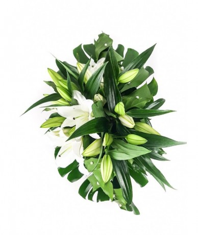 No.1 bouquet of lilies in Budapest