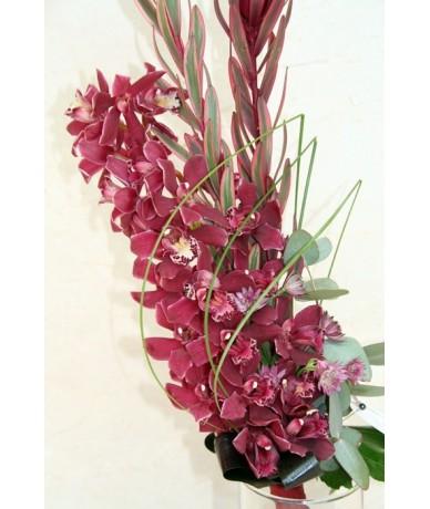 Orchidea csokor ballagásra