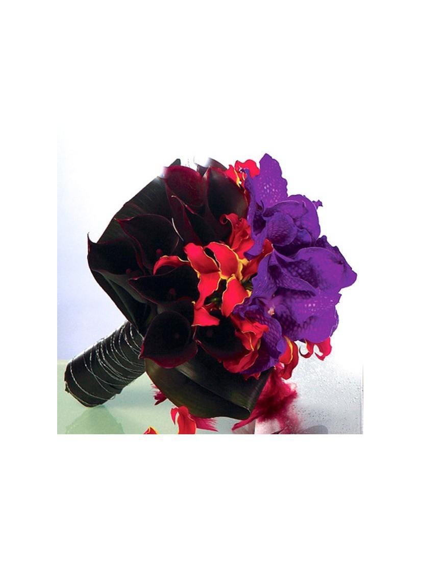 Barokkos extravagáns virágcsokor - virágküldés Fleurt