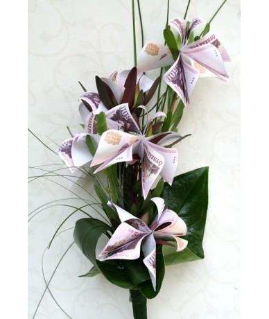Money Bouquet 1-  the perfect graduation bouquet