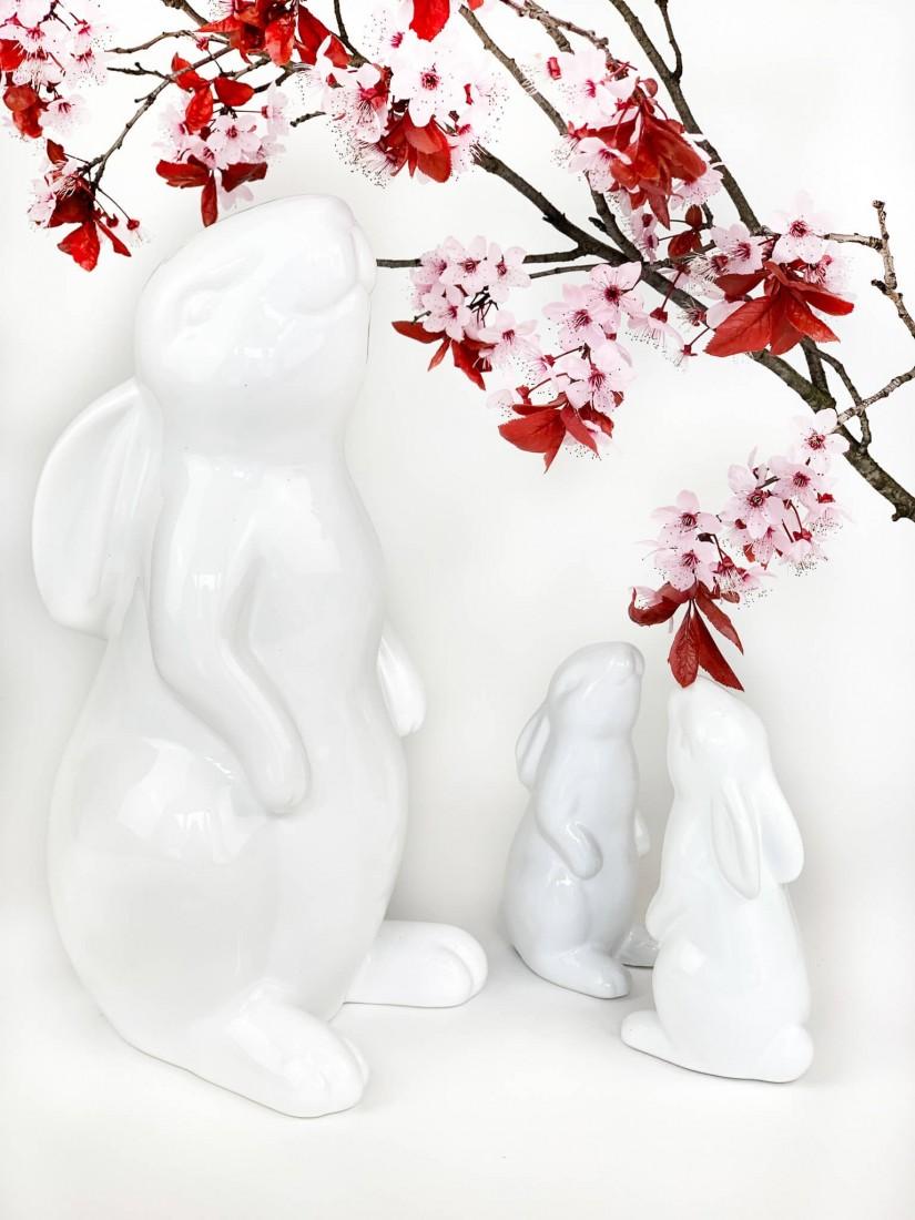 Big porcelain Easter bunny
