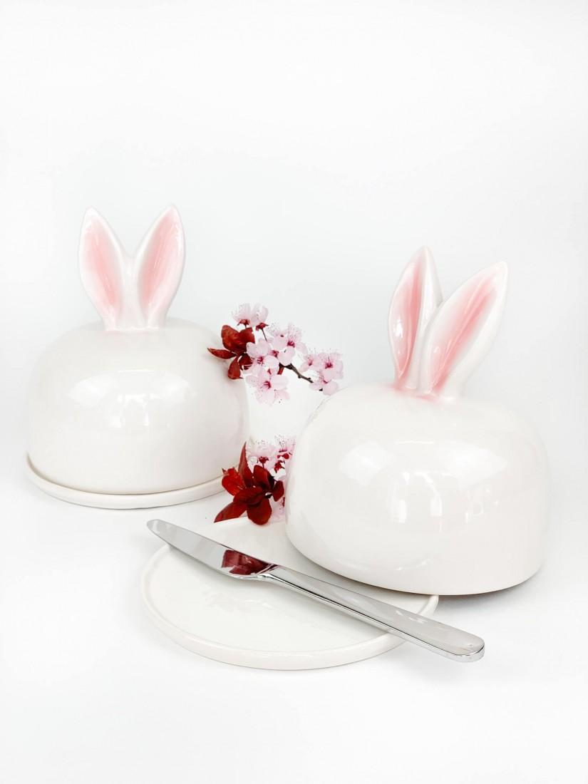 Green-White Easter flower gift