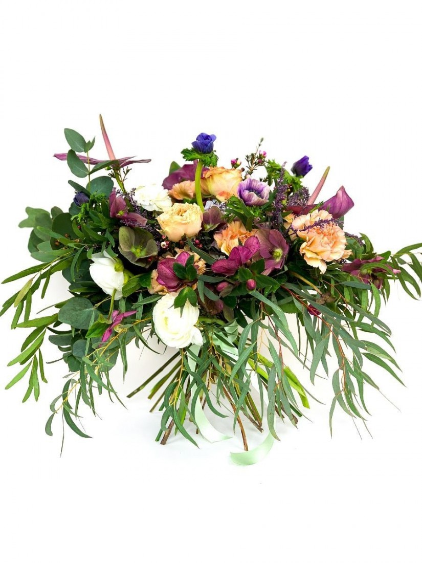 A magnificent bouquet of exciting flowers