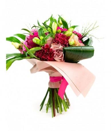 Kis kerekfejű virágocskák a pink minden árnyalatában