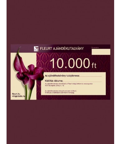 FLEURT Coupon 10.000 HUF