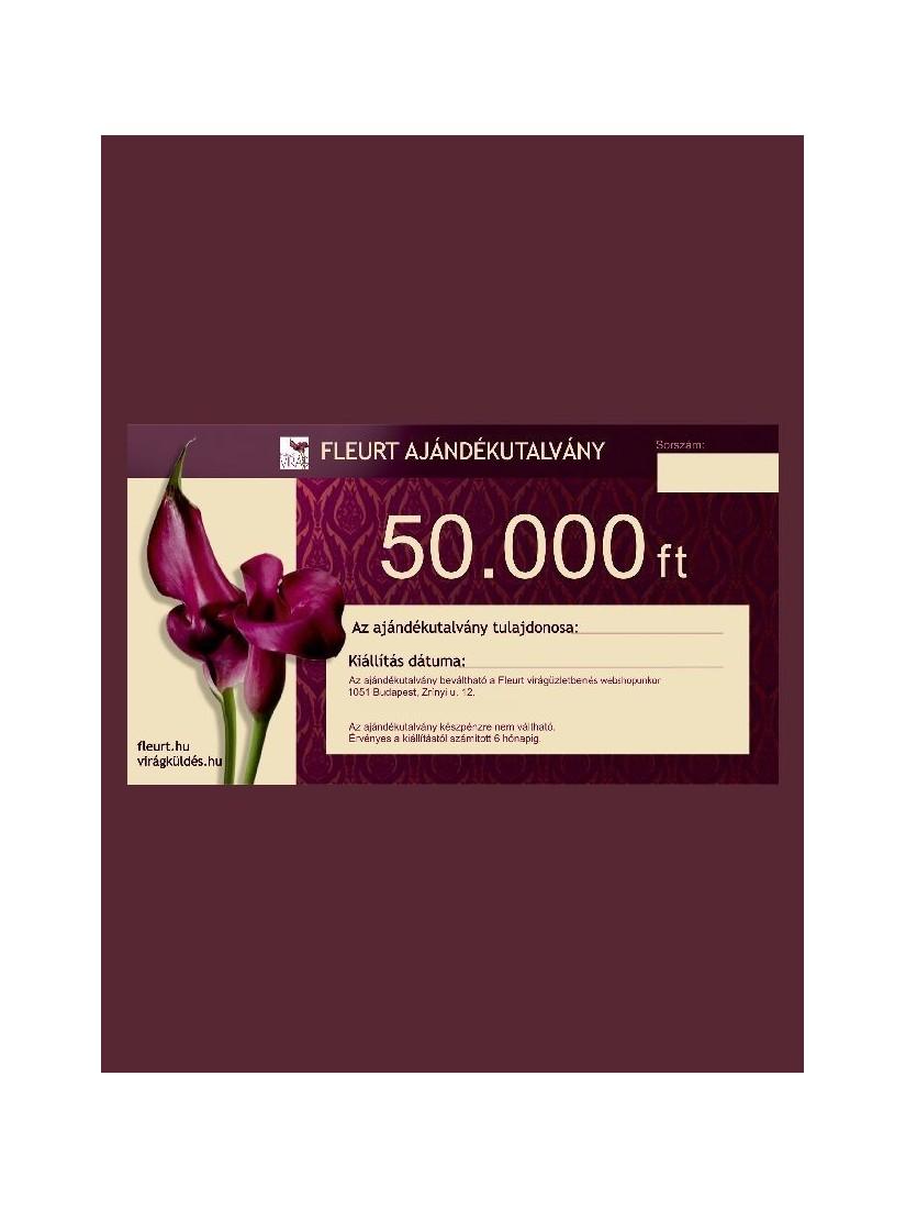 FLEURT Coupon 50.000 HUF