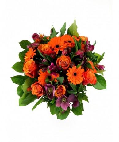 Elegáns, narancs bokréta vibráló színekben