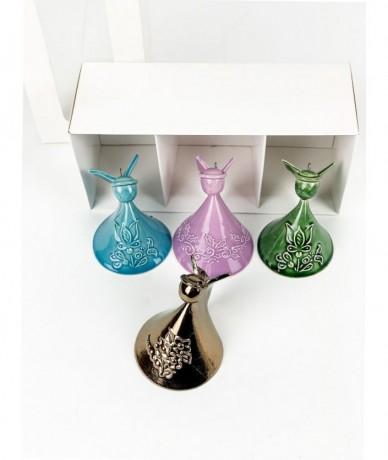 handmade ceramic angel ornament
