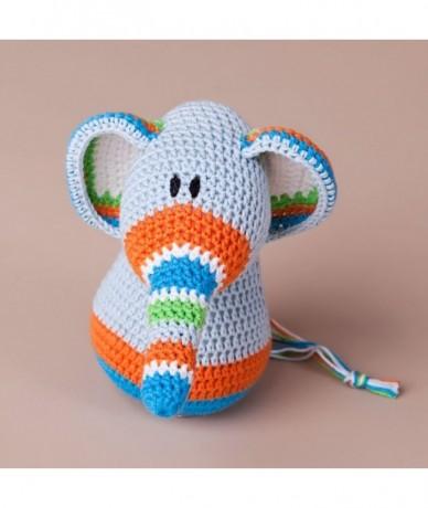 Ella&Edward crochet elephant pair