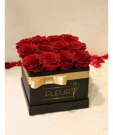 Tűzvörös vermont tartósított rózsák