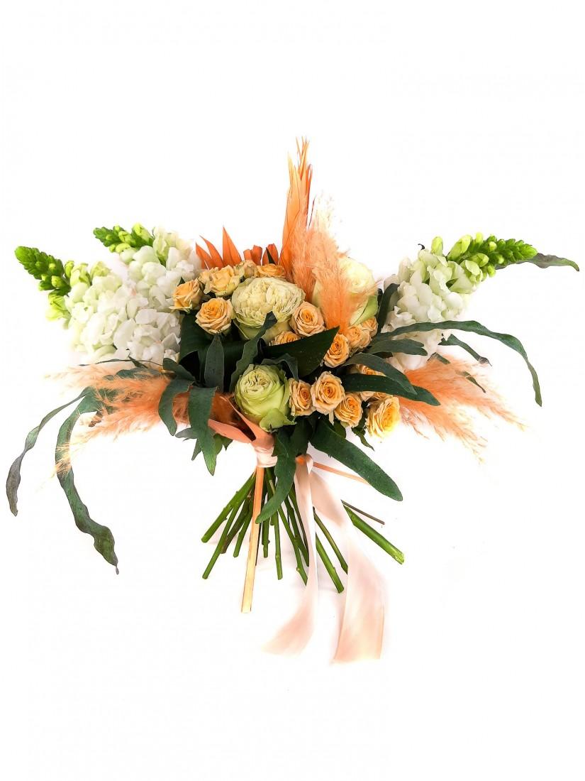 Colourful flower bouquet