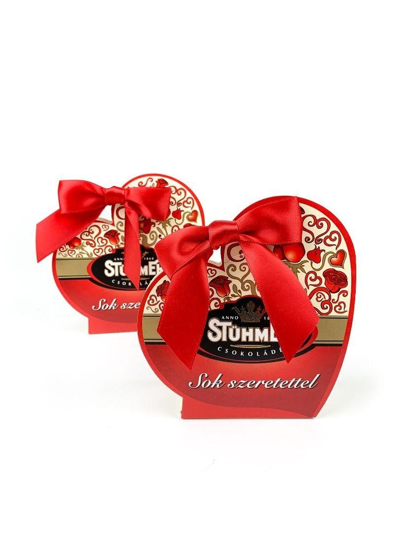 Stühmer Sziluette Szívecske - töltött csokoládé