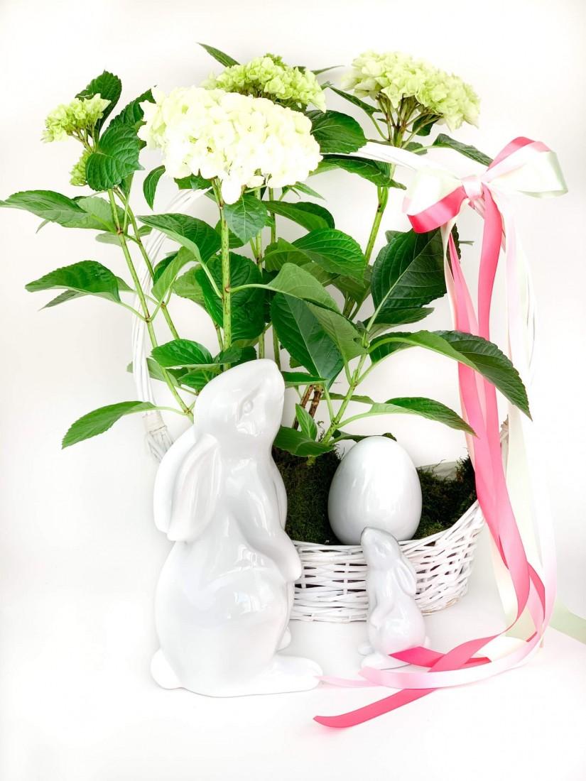 Húsvéti kis virágösszeültetés tavaszi virágokból