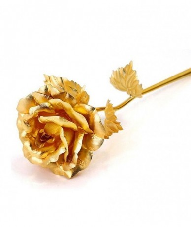 Rose plated with 24 carat gold