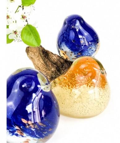 Modern húsvéti dekoráció üveg madárral