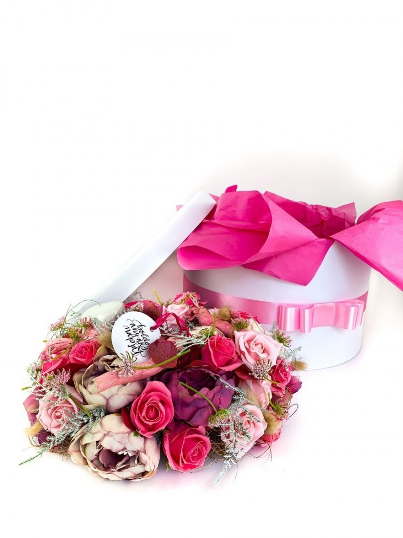 Happy Mothers day in pink decor