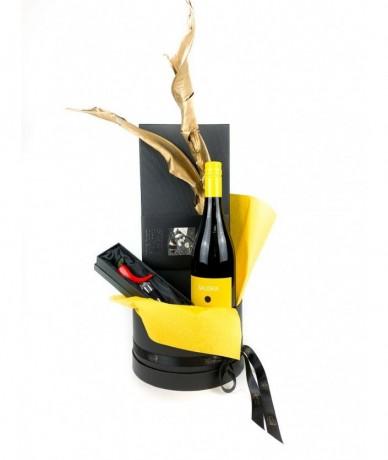 Kerámia-paprika dugóhúzó arany fogantyús 'Just Slate' pala tálcával