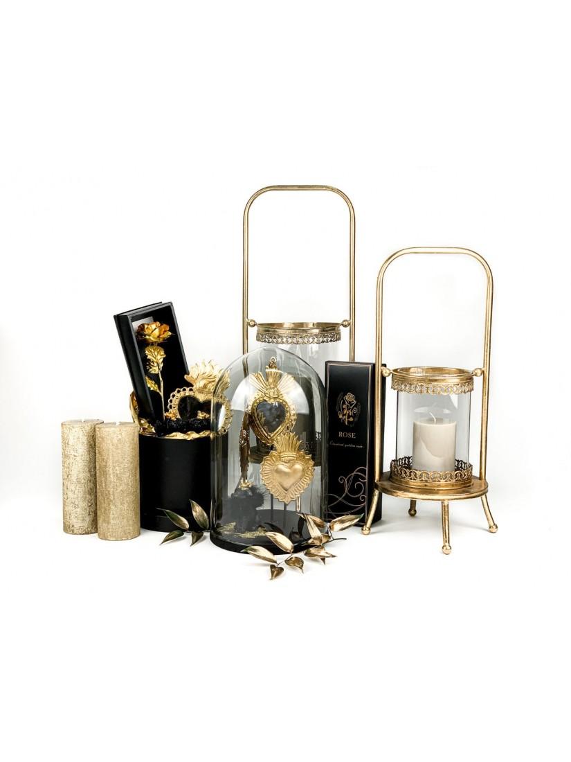 Gazdag csomag - aranyban és feketében tündöklő ajándékhalmaz Ex Voto stílusban