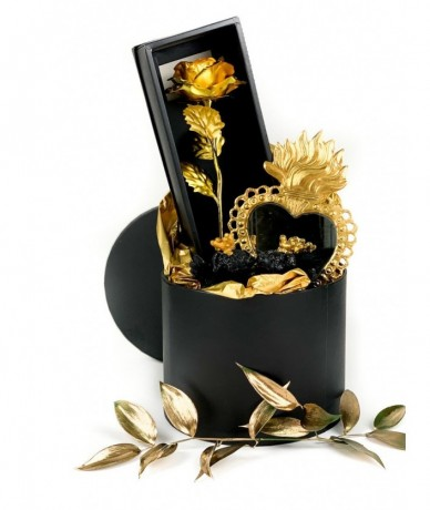 Black and gold gratitude package - luxury gifting