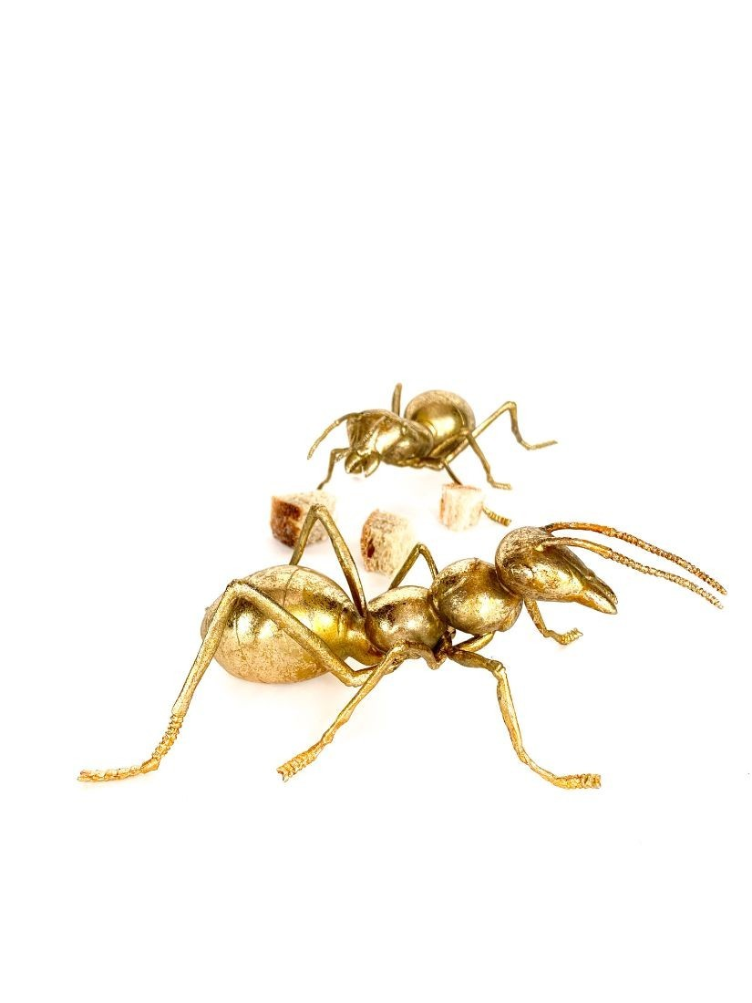 Giant gold ant home decoration - Home decor items