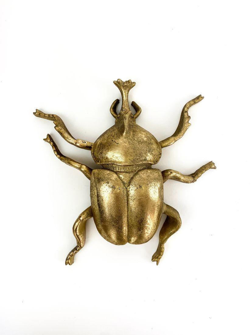 Giant gold rhinoceros beetle - modern present for men