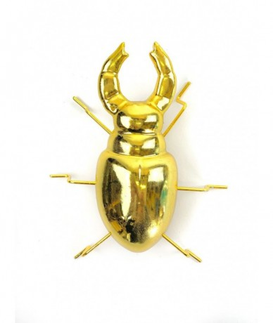 Gold metal beetle - presents for modern man