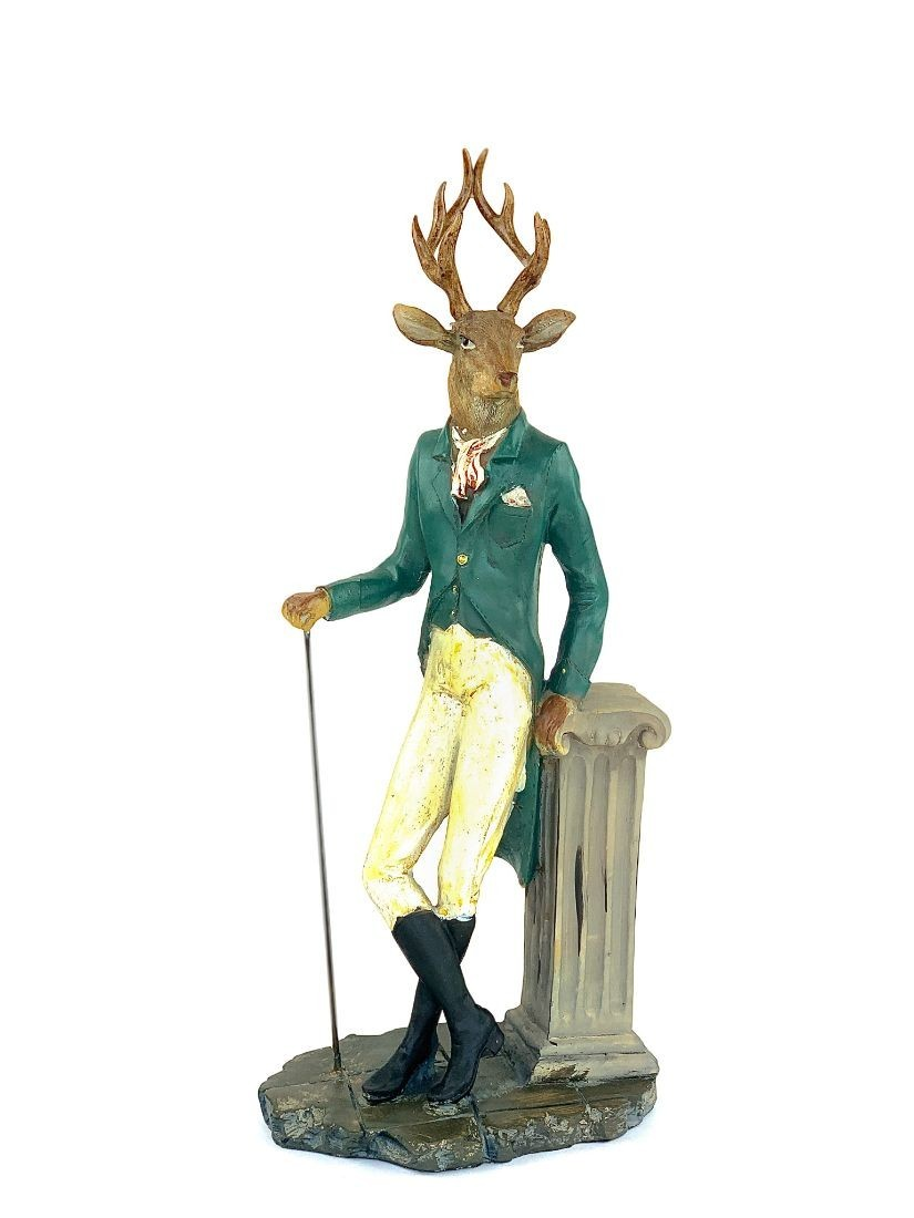 Elegant deer with cane - stylish presents for man