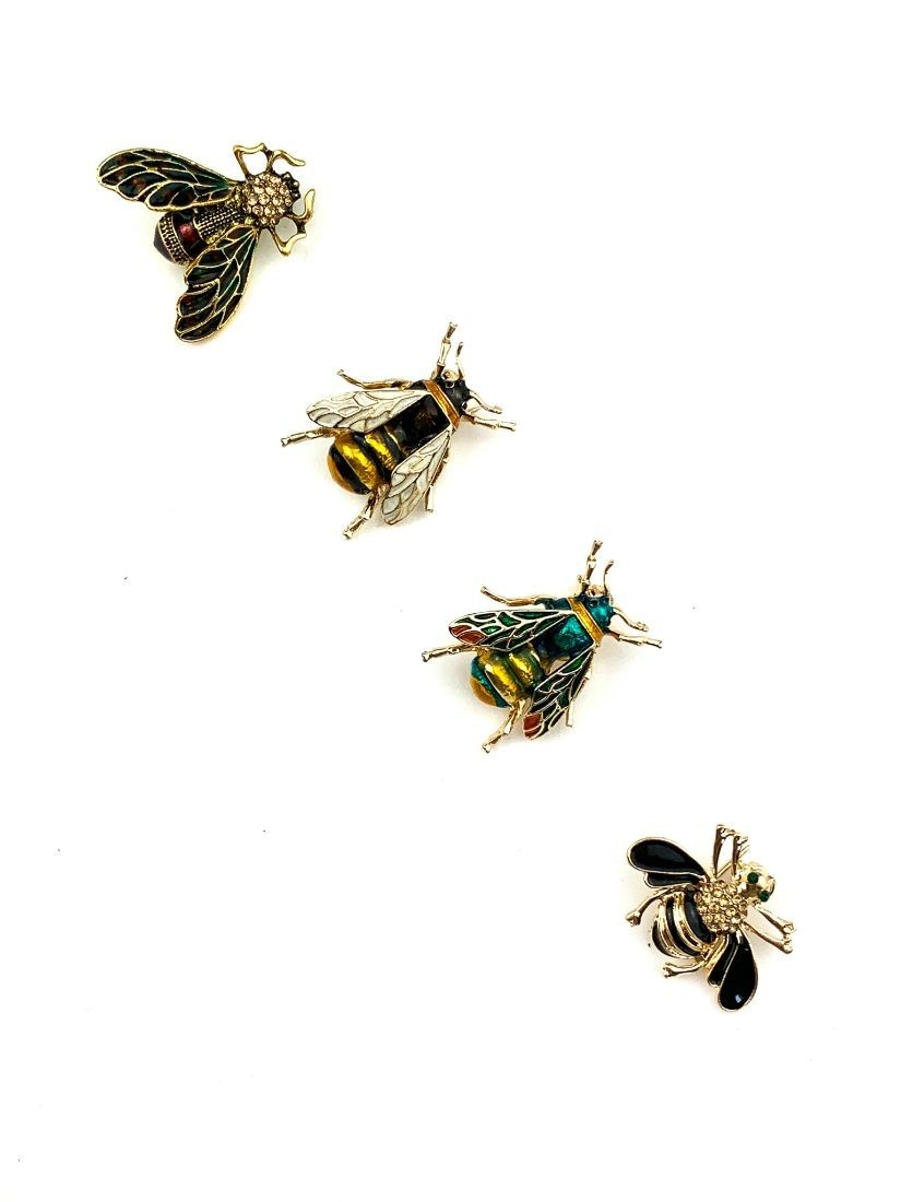 Bee brooches  - small gift for woman