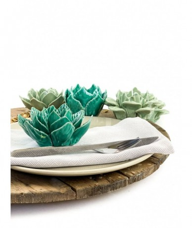 Turquoise napkin decor - accessories in home design