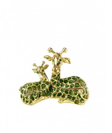 Metal jewellery holder with giraffe - cute lady gift