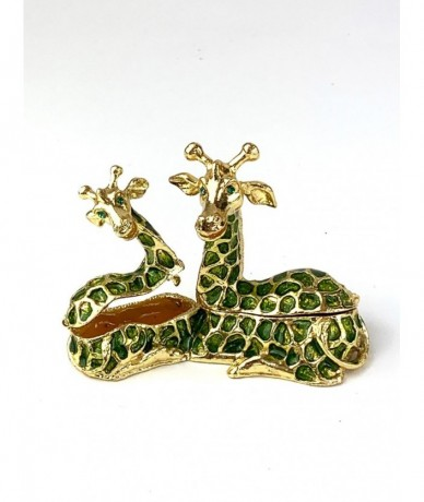 Metal jewellery holder with giraffe - cute lady gift