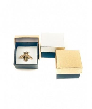 Méhecske bross ajándék ezüstben és aranyban