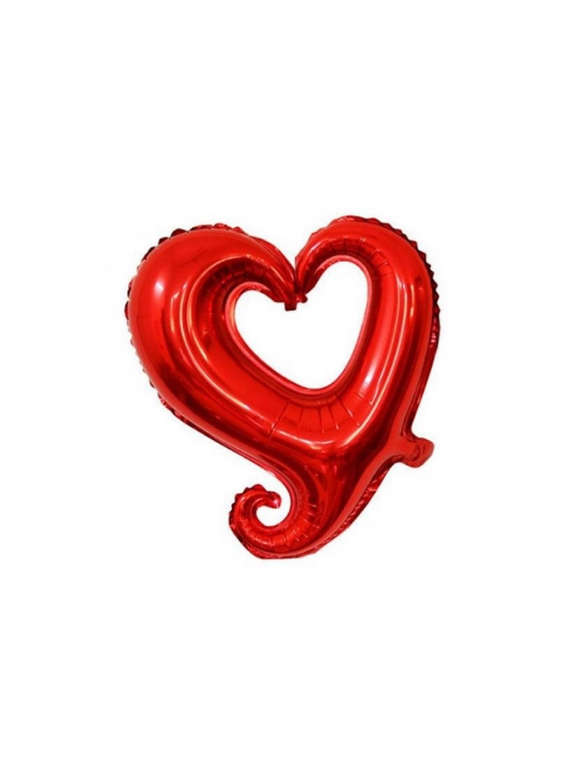 Decorative heart balloon