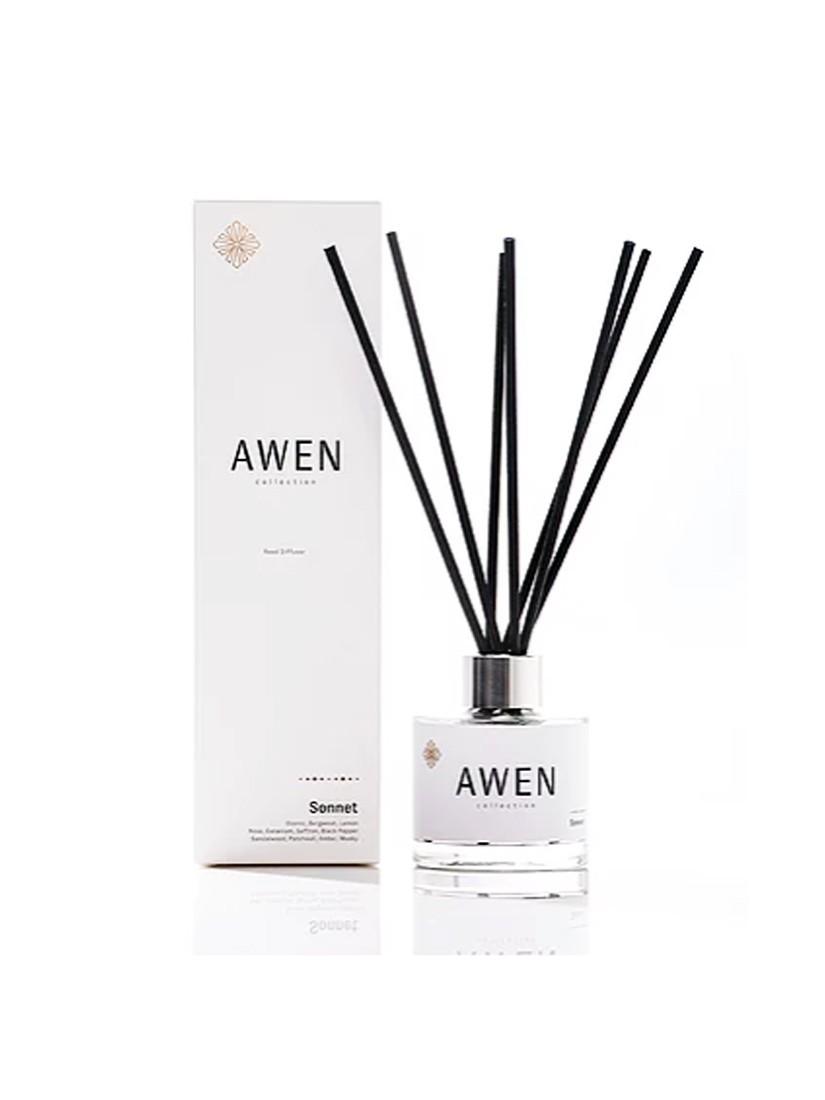 Awen illatosító pálcák - 100ml diffúzor, Sonnet illattal
