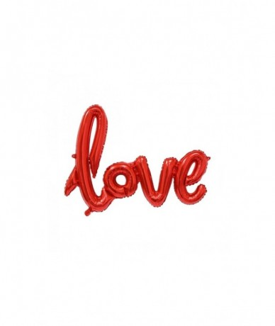 Love sign metal balloon filled with helium