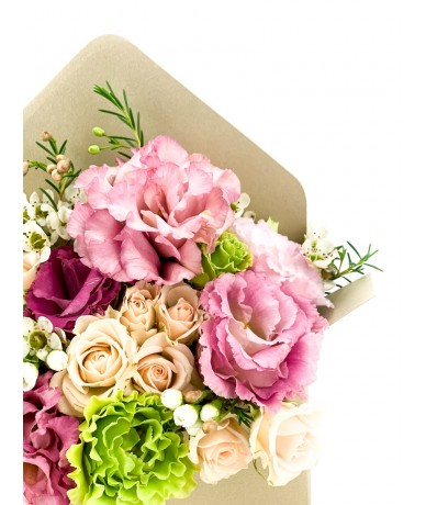 Flowers in an envelope