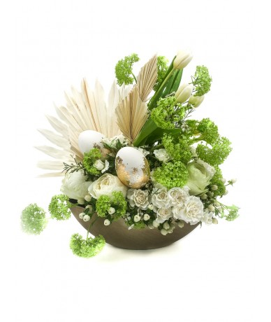 Tulip Egg - wonderful table decoration for Easter