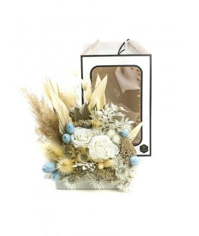 Húsvéti virágdoboz
