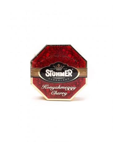 Konyakmeggy: elegánsan dobozolt csokoládé a Stühmertől