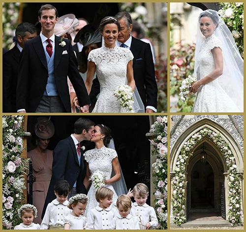 Pippa esküvői virágai