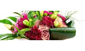 A női szív és egy virágcsokor